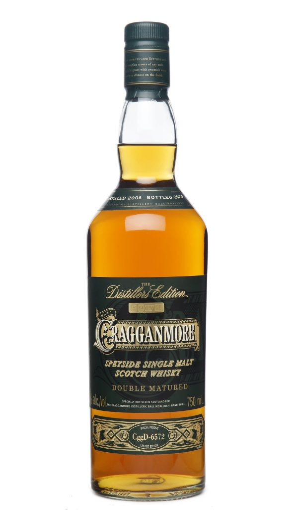 2020 Cragganmore Distillers Edition bottle