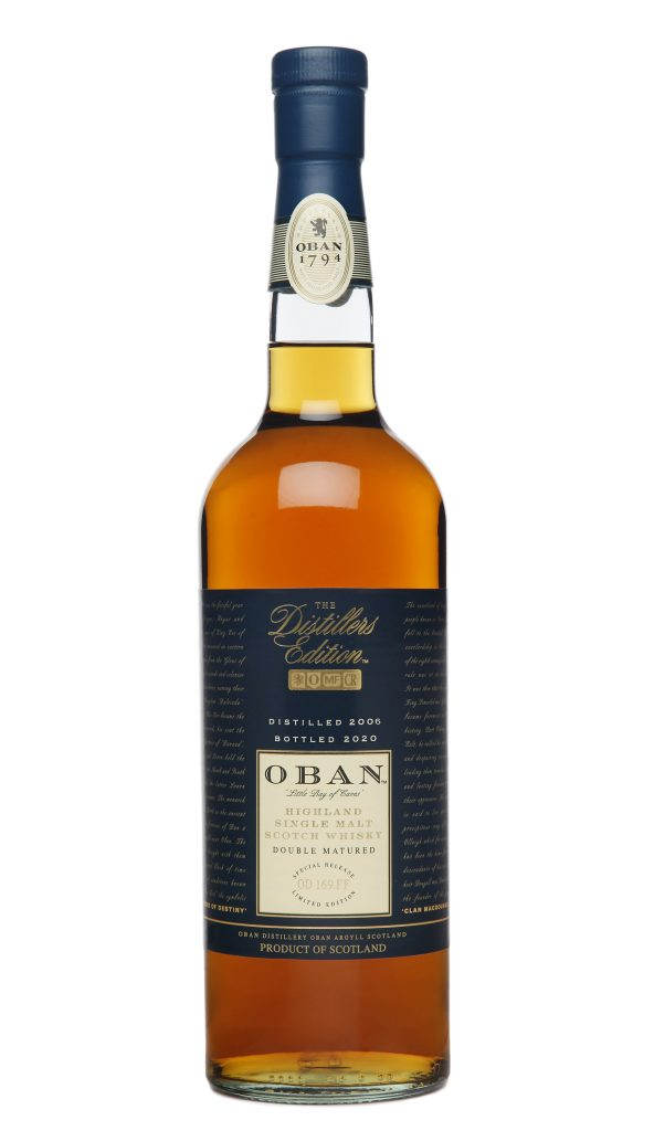 2020 Oban Distillers Edition bottle