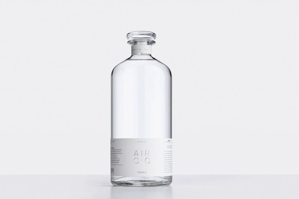 Air co. carbon-negative vodka