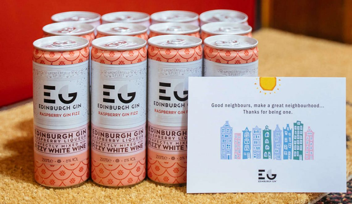 Edinburgh Gin Raspberry Gin Fizz Neighborhood Pack