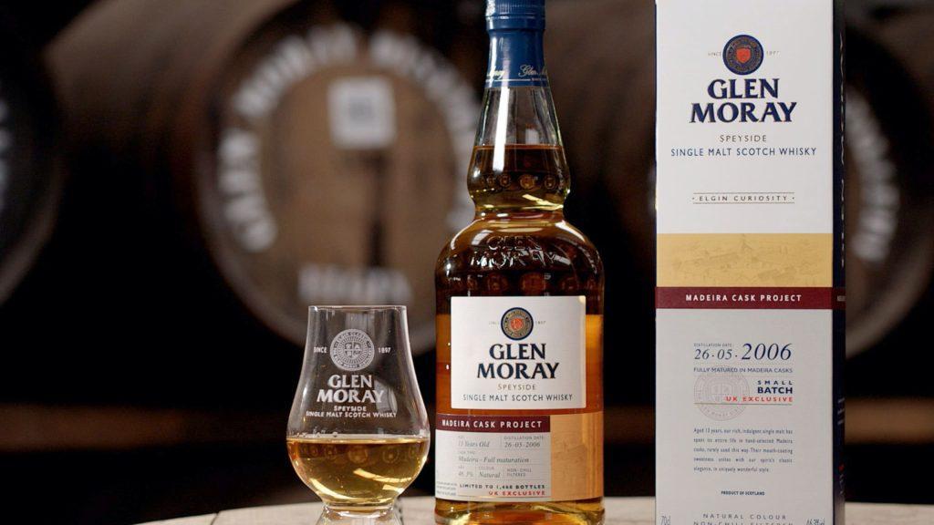 Glen Moray Madeira Cask Project whisky