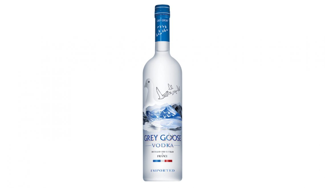 Grey Goose Vodka bottle