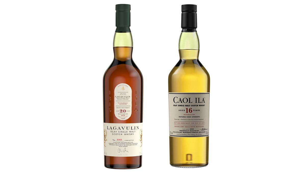 Lagavulin And Caol Ila Fèis Ìle 2020 Whiskies