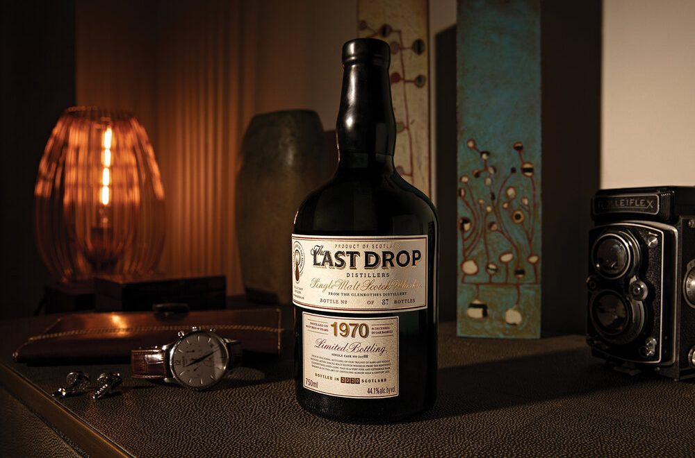 Last Drop Distillers Launch Extremely Rare 1970 Glenrothes Whisky In The US