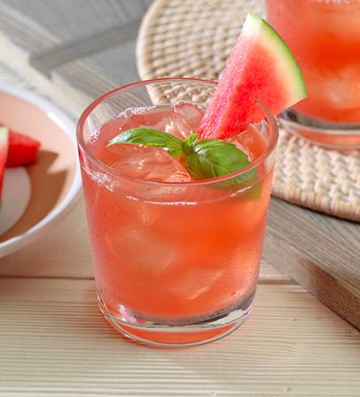 Patron Reposado Watermelon Basil Margarita