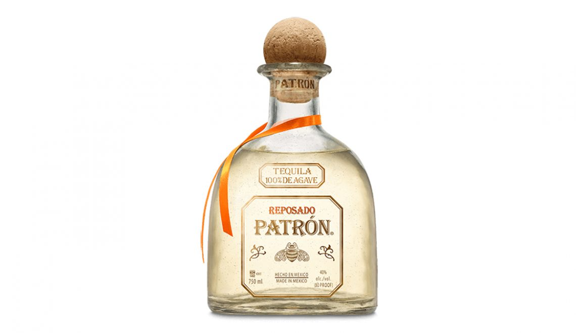 Patron Reposado bottle