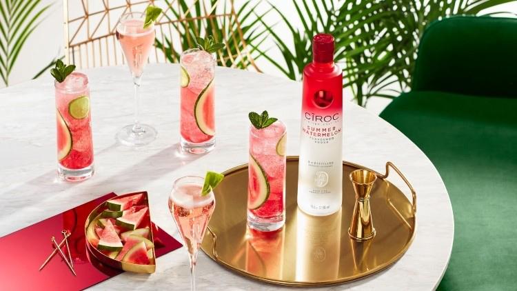 Ciroc Summer Watermelon Vodka Officially Hits Shelves