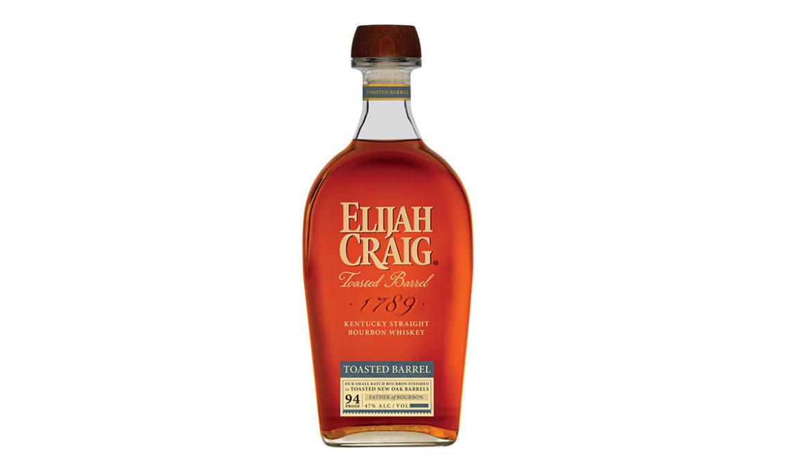 Elijah Craig Toasted Barrel Kentucky Straight Bourbon Whiskey bottle