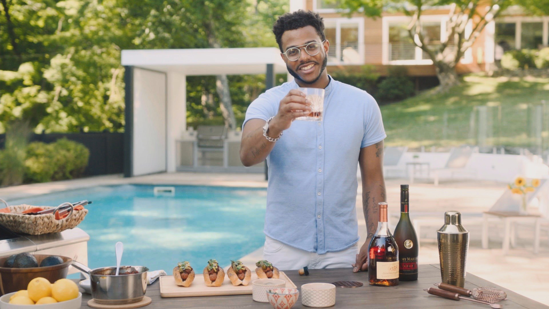 Remy Martin - Chef Kwame Onwuachi - Flavor by the Grill