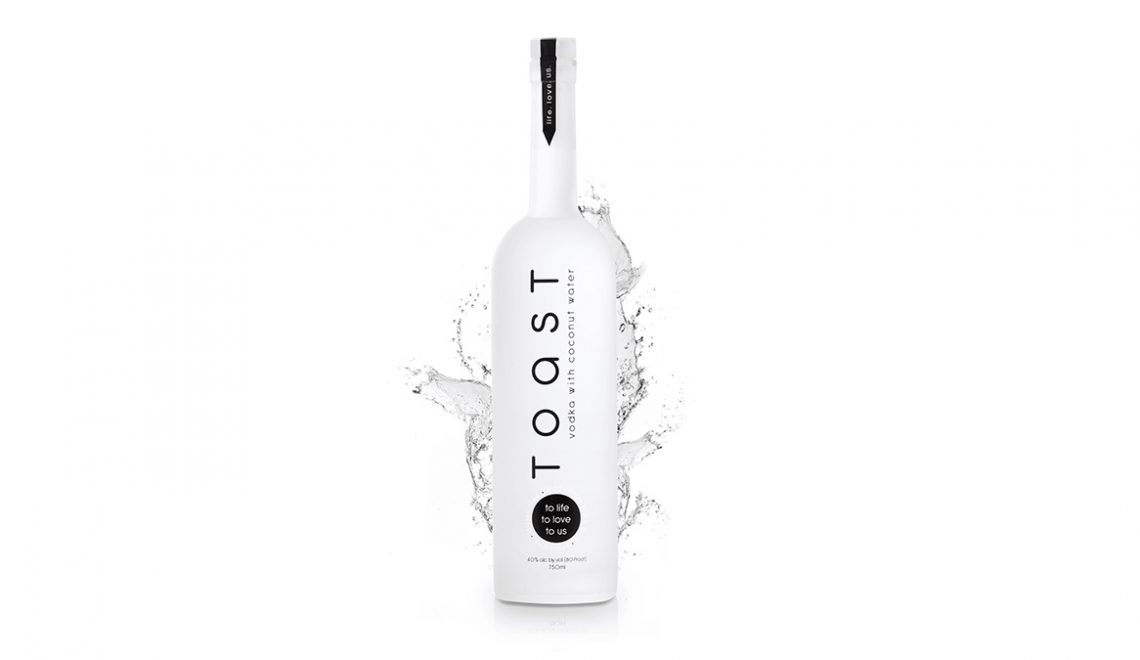Toast Vodka Launches E-Commerce Website, Bringing The World's First Ultra-Premium, Coconut Water Vodka To Your Fingertips