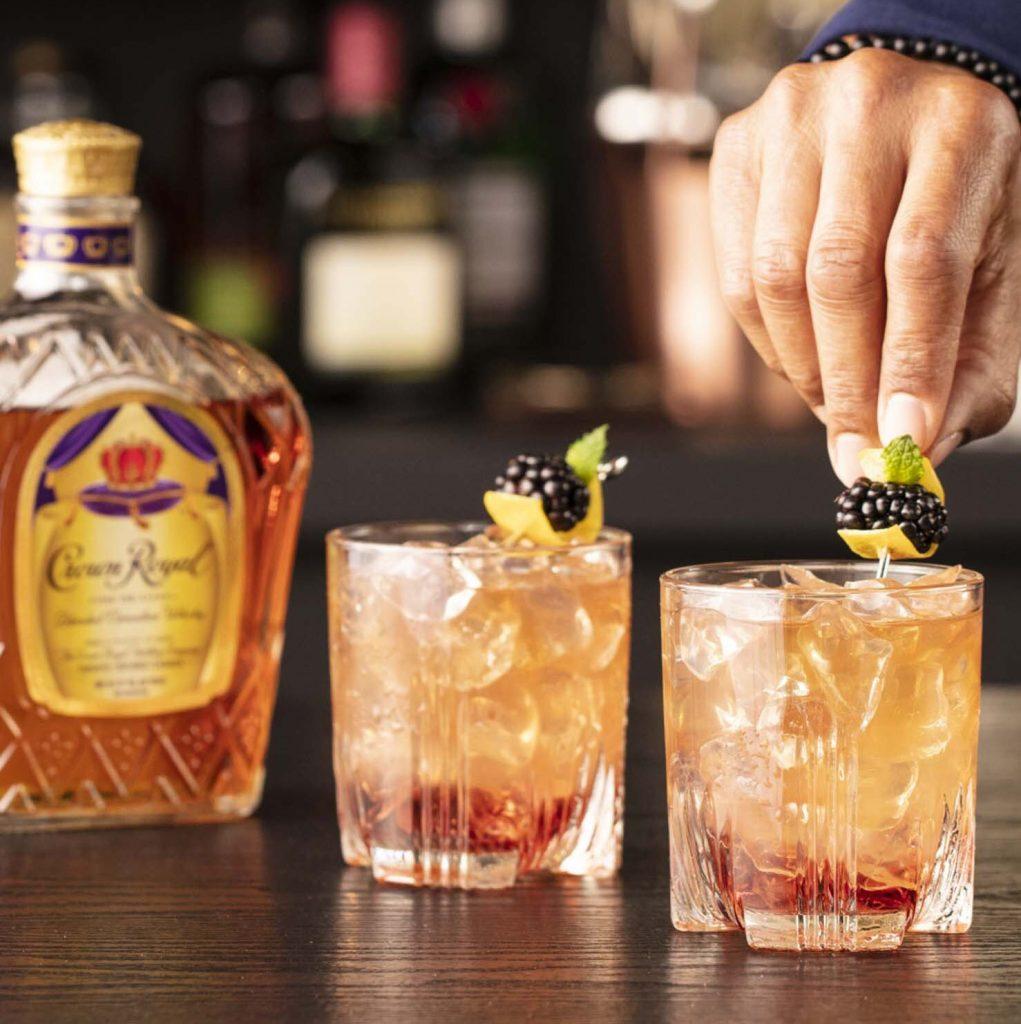 blackberry whisky sour