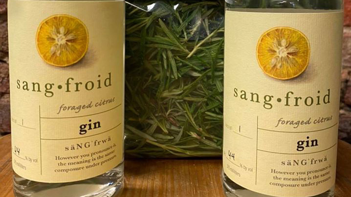 sangfroid distillery foraged citrus gin