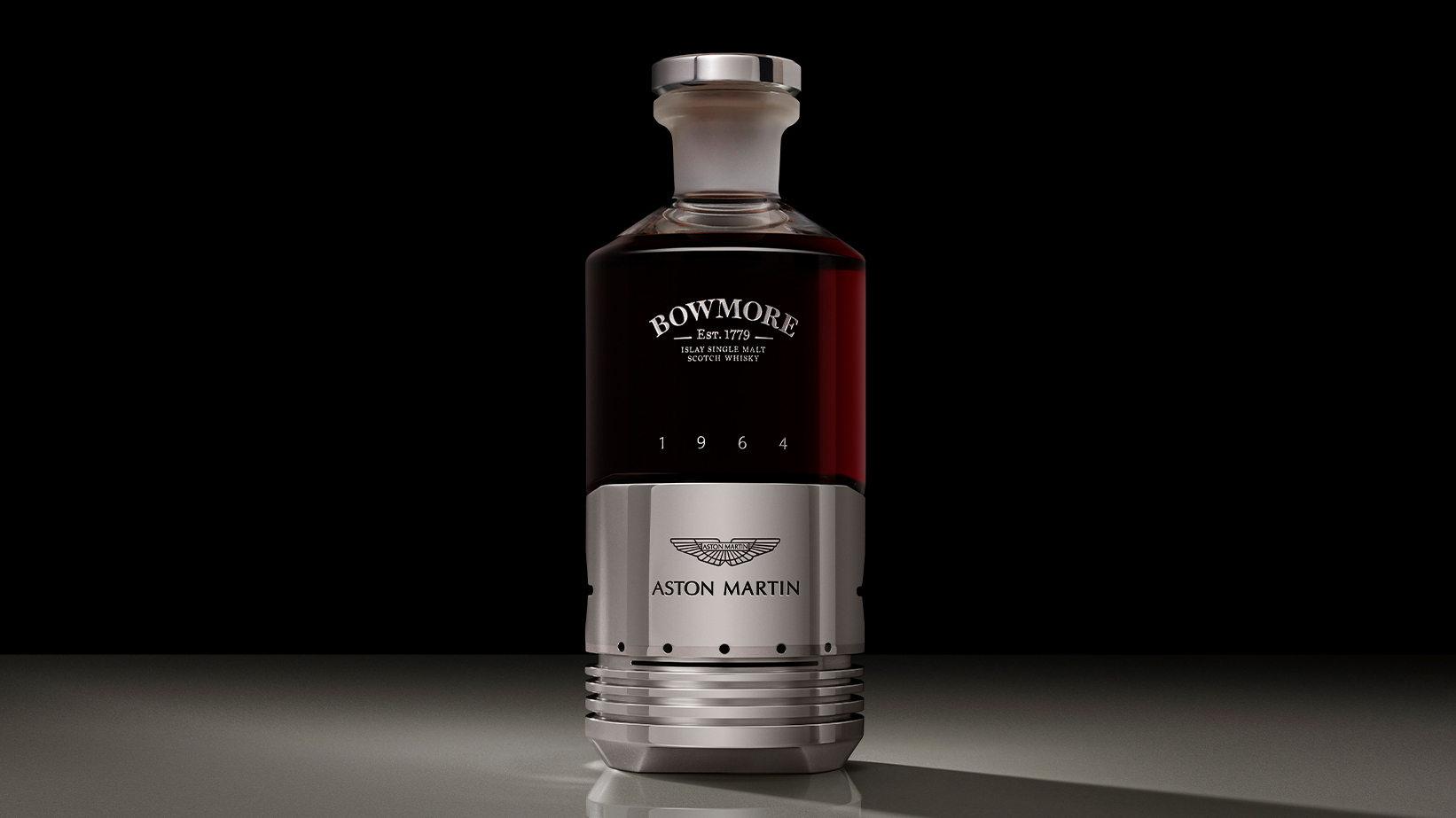 Aston Martin And Bowmore Launch Black Bowmore DB5 1964