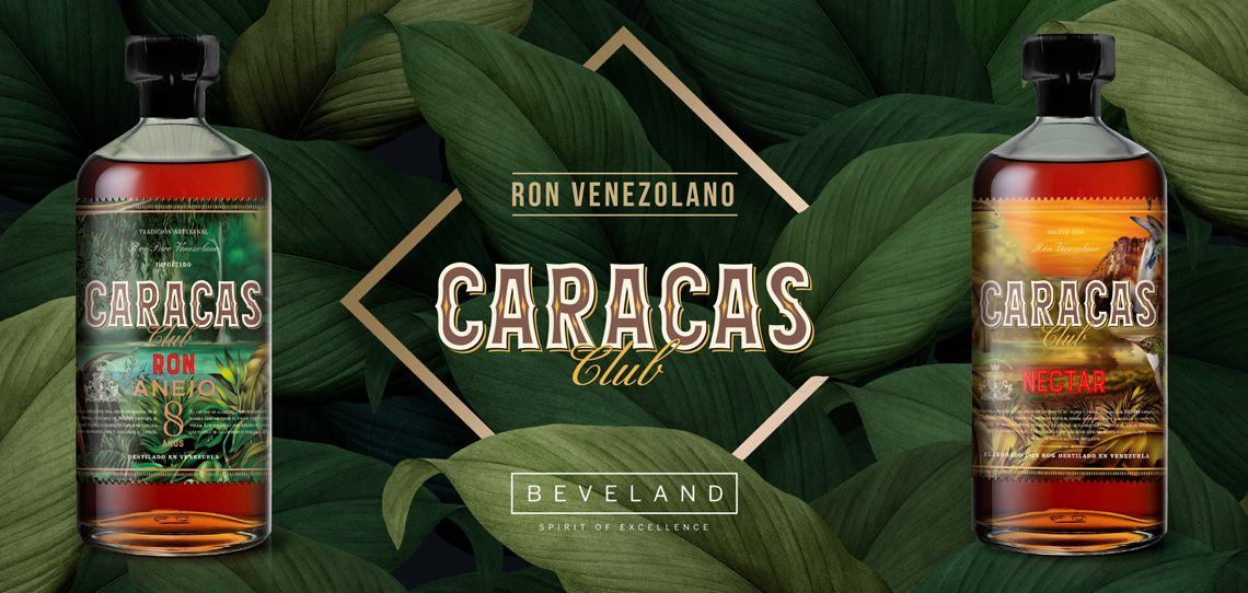 Beveland Distillers Launches Caracas Club Rums