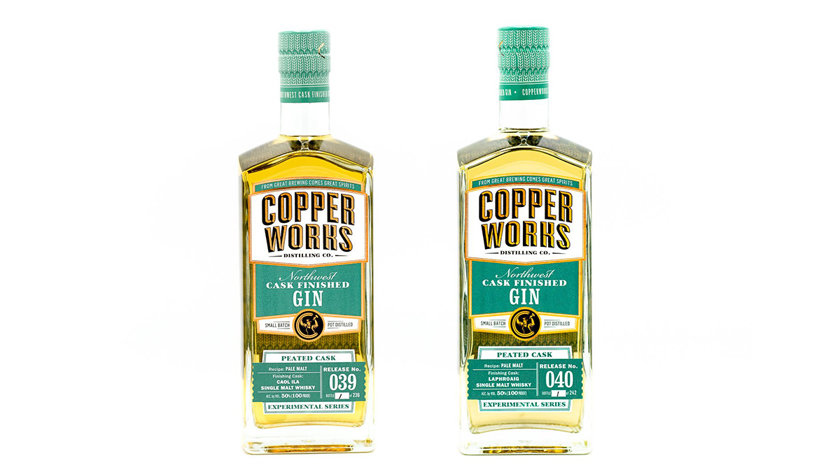Copperworks Adds Gins Aged In Laphroaig And Caol Ila Casks