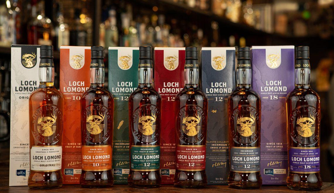 Loch Lomond Whiskies refresh