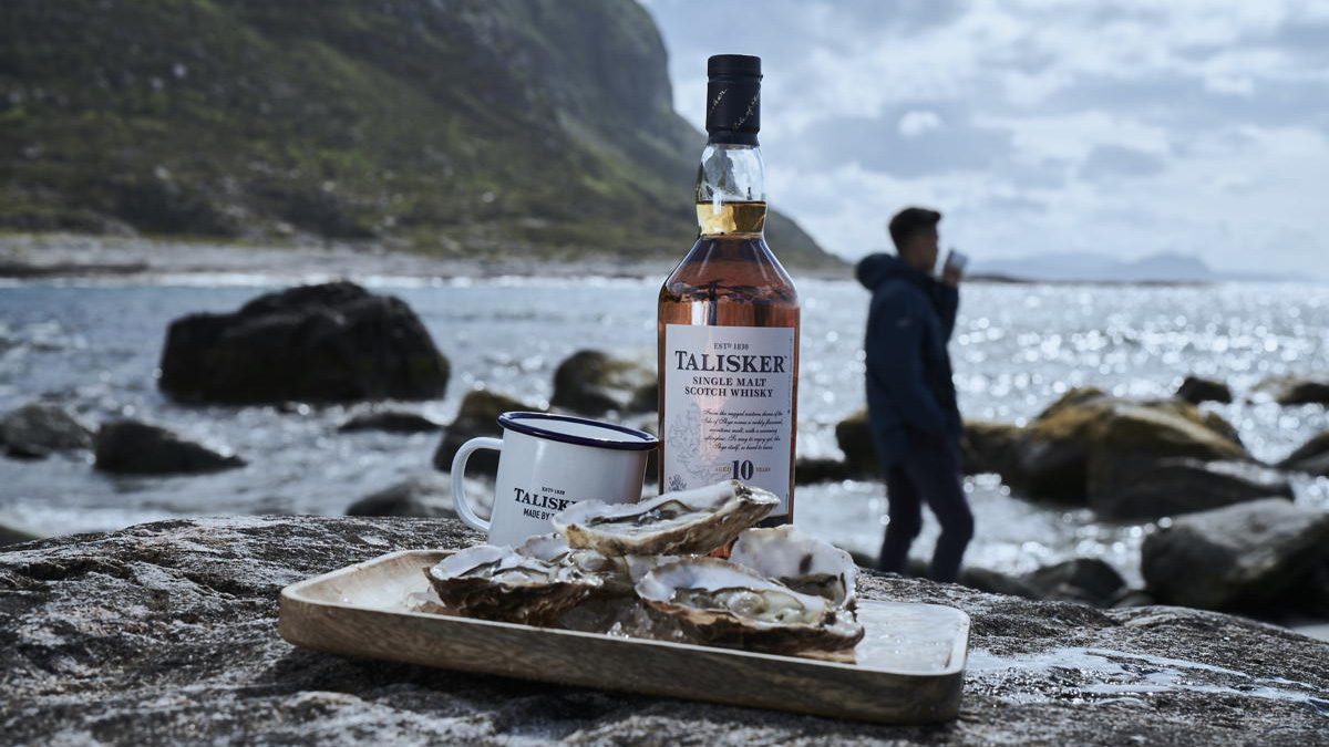 Talisker - Loch Fyne Oysters - Fishermen's Mission - Oyster Pairing Kit