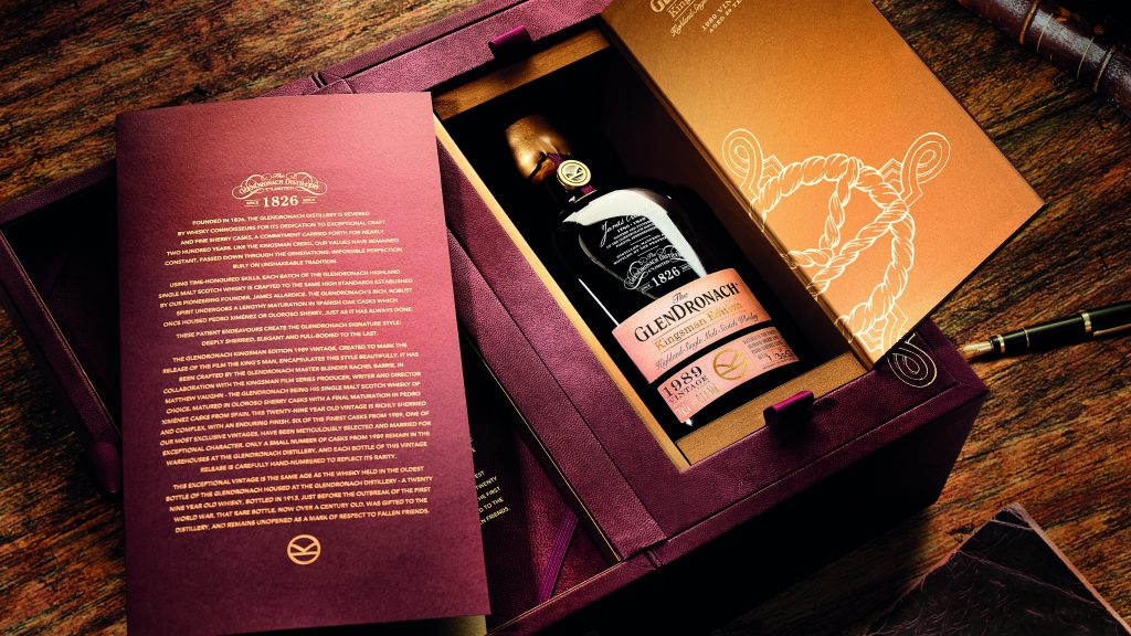 "The GlenDronach Unveils Kingsman Edition 1989 Vintage Ahead Of ""The King's Man"" Premiere"