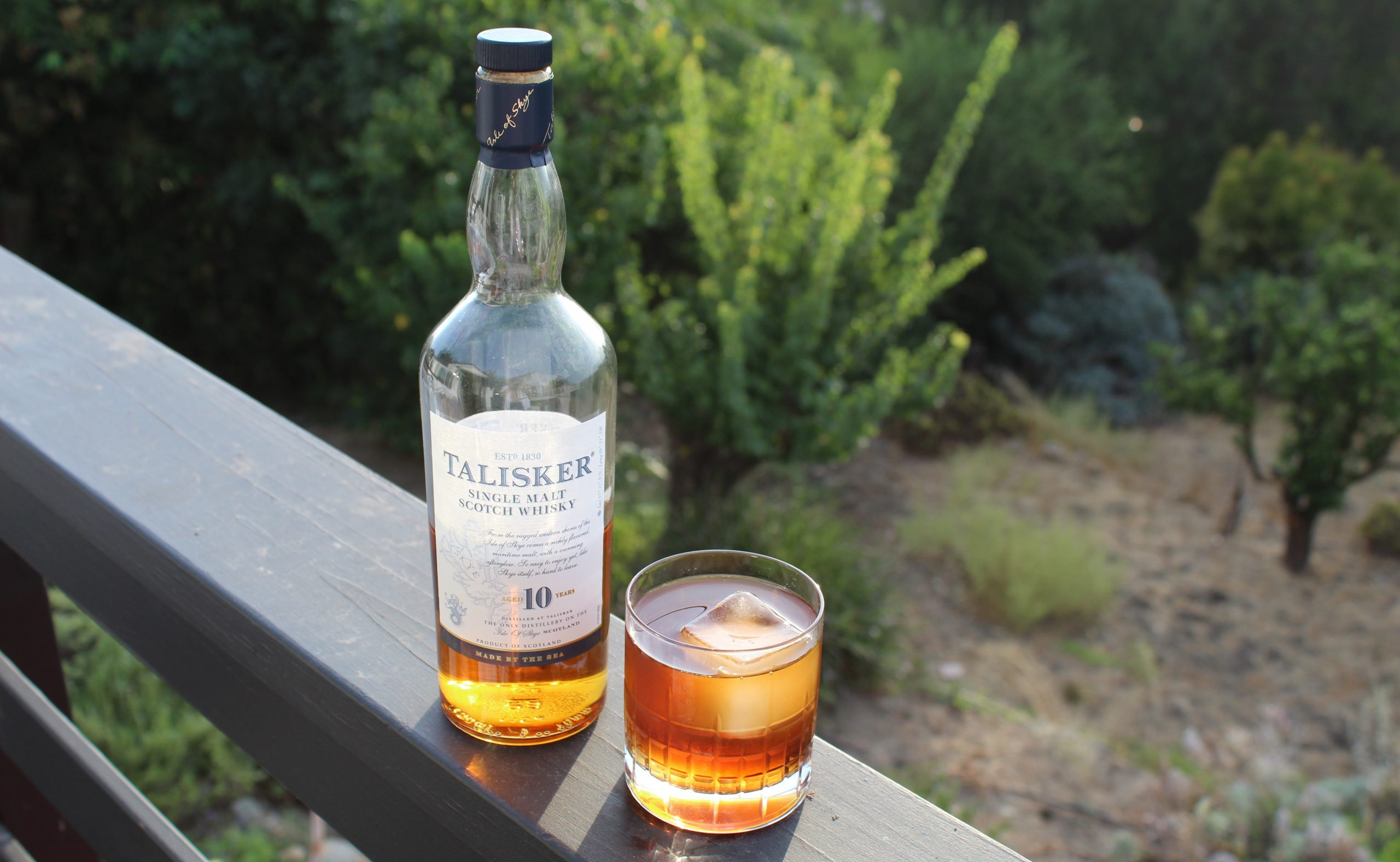Three Cocktails With… Talisker 10 Year Old