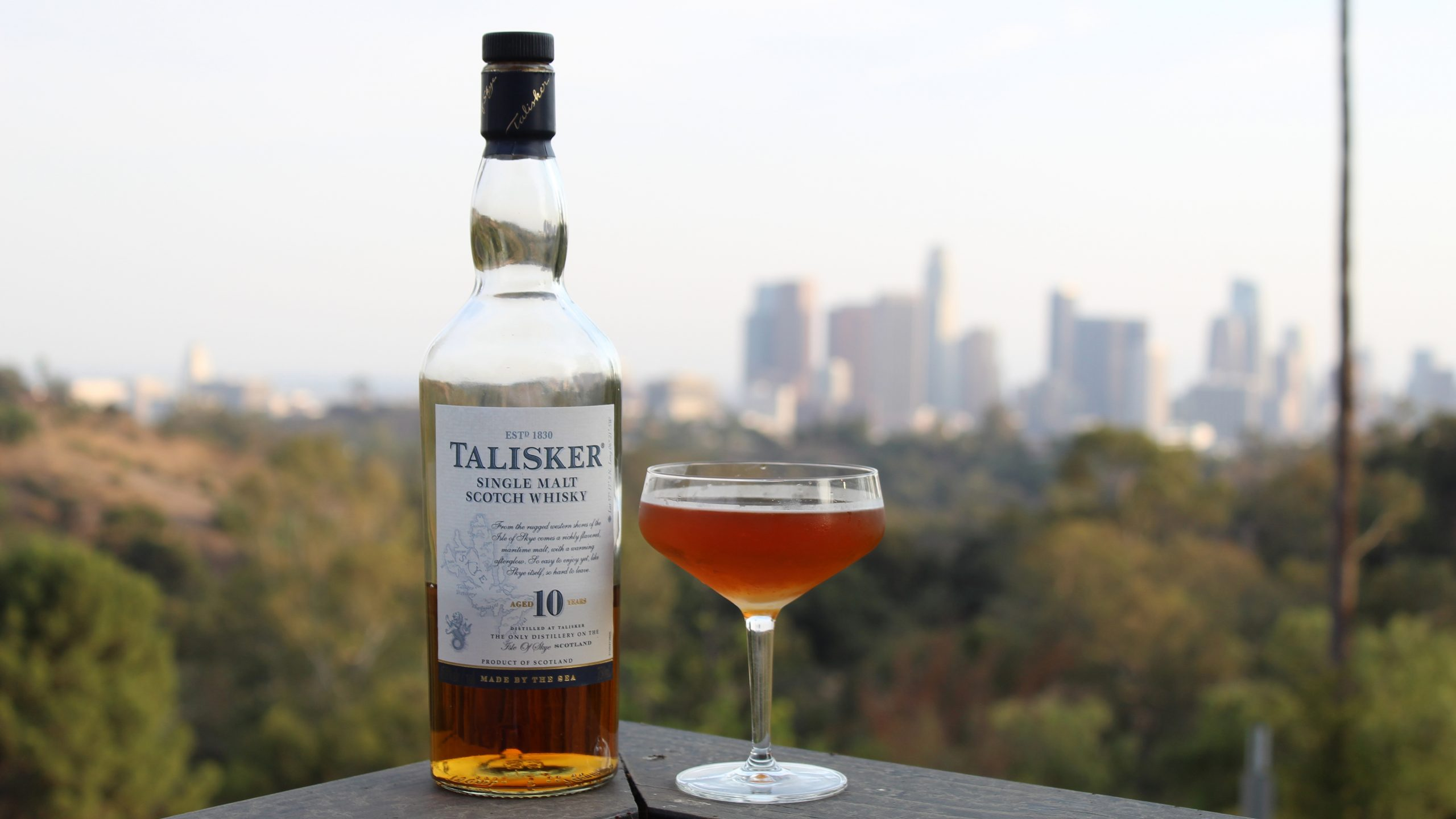 The Wanderer Talisker 10 Year Cocktail