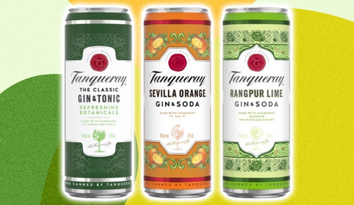 Tanqueray canned cocktails