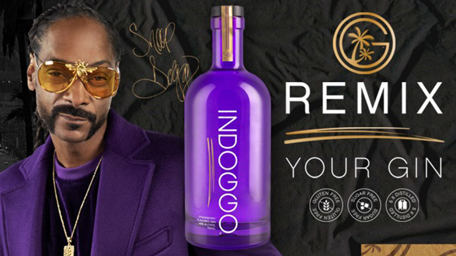 Snoop Dogg Indoggo Gin