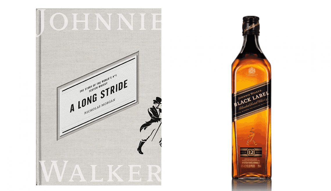 A Long Stride Book About History of Johnnie Walker