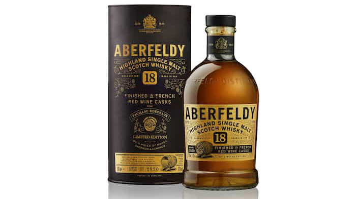 Aberfeldy 18 Years Old French Red Wine Cask