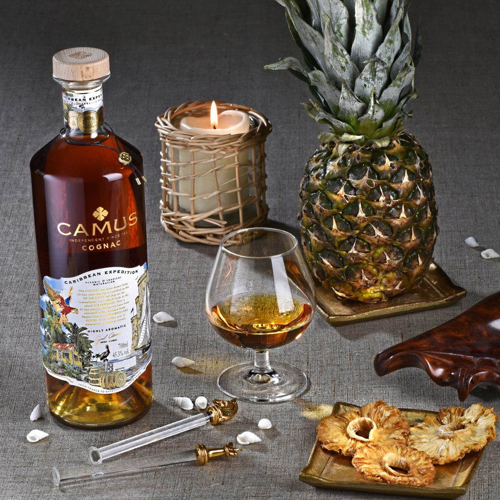Camus Caribbean Expedition Cognac Ambiance