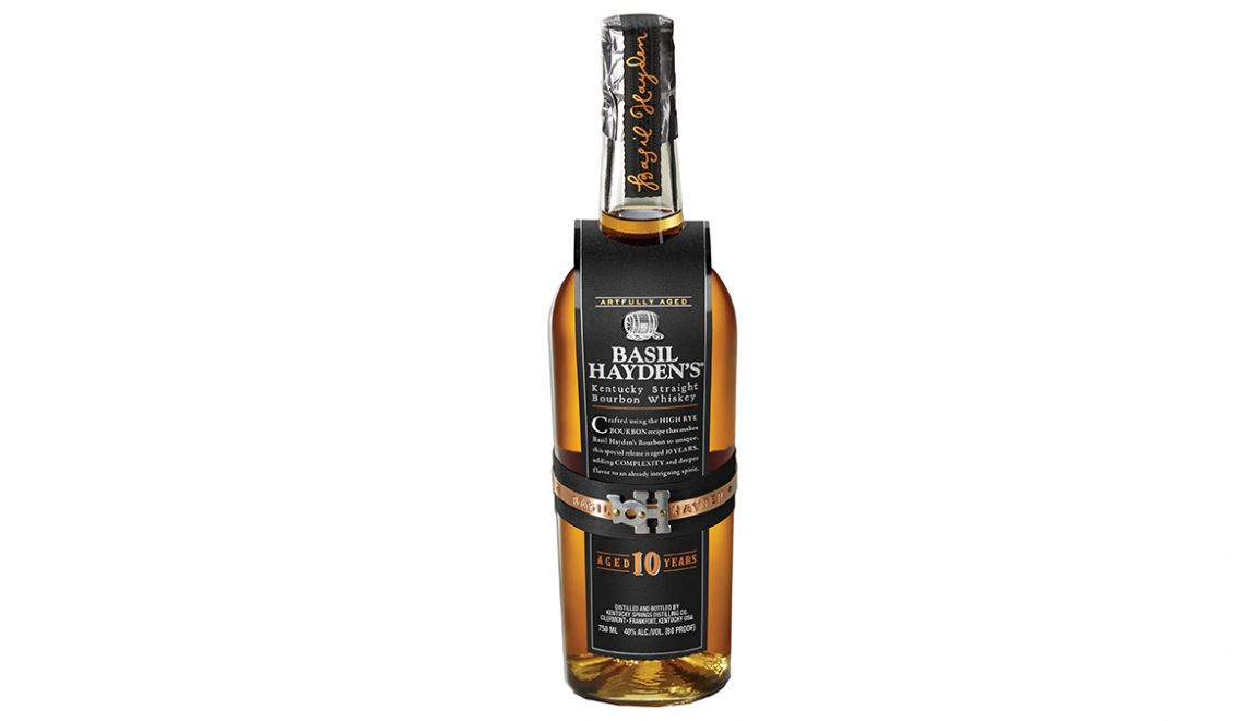 Basil Hayden's 10 Year Bourbon 2020 Hits Shelves