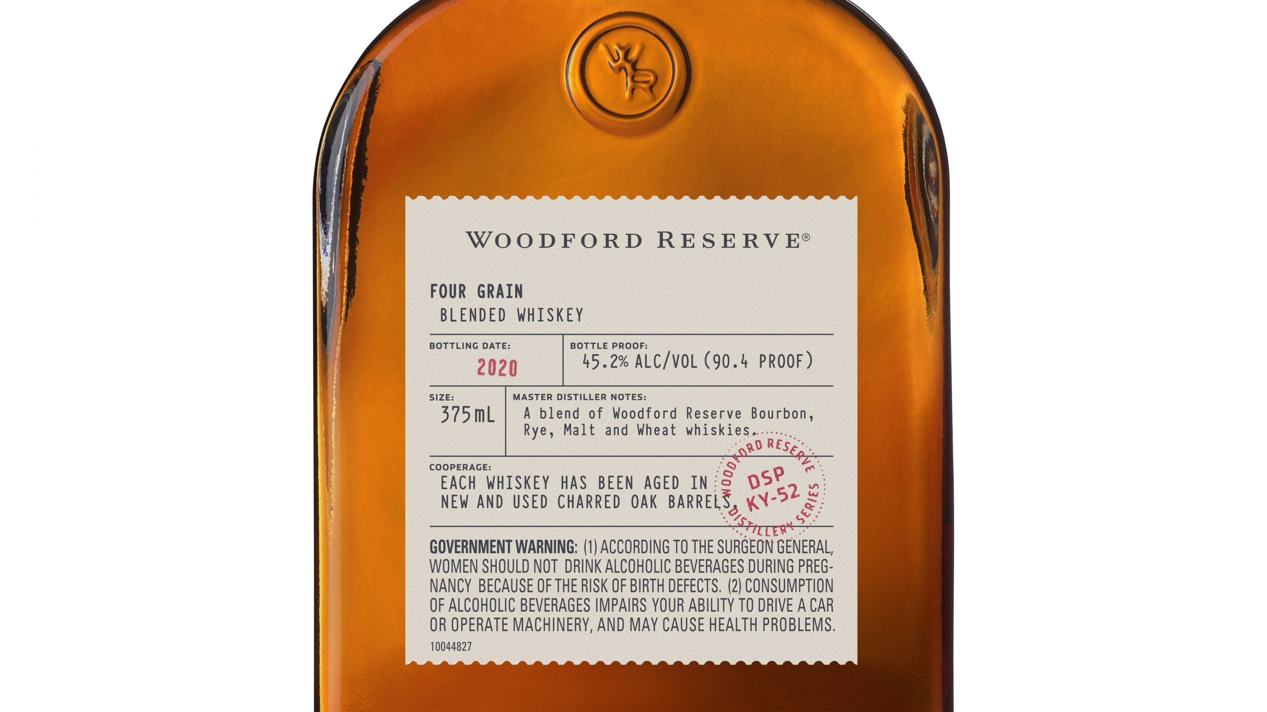 Bottle Breakdown Woodford Reserve Four Grain
