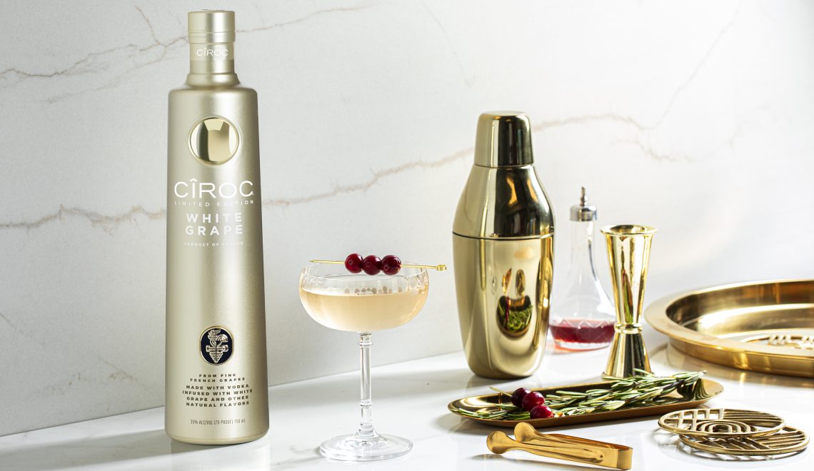 Ciroc White Grape Returns Just In Time For National Vodka Day 2020