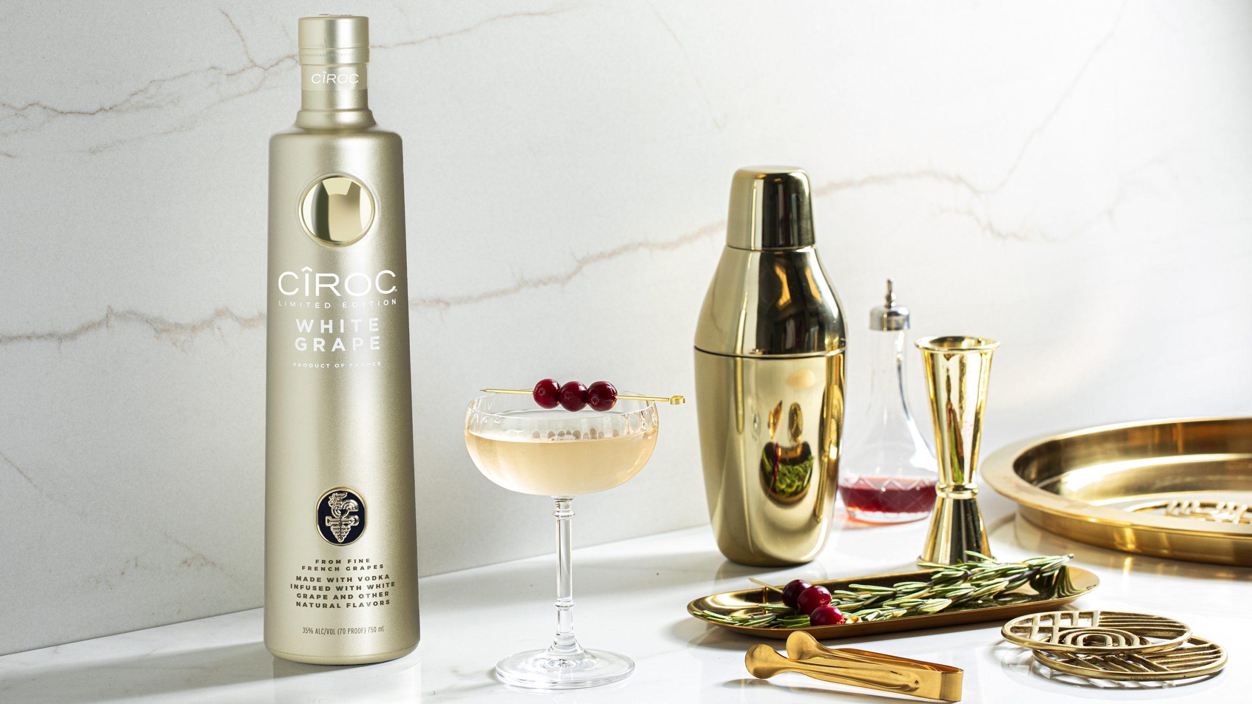 Ciroc White Grape Cranberry Martini