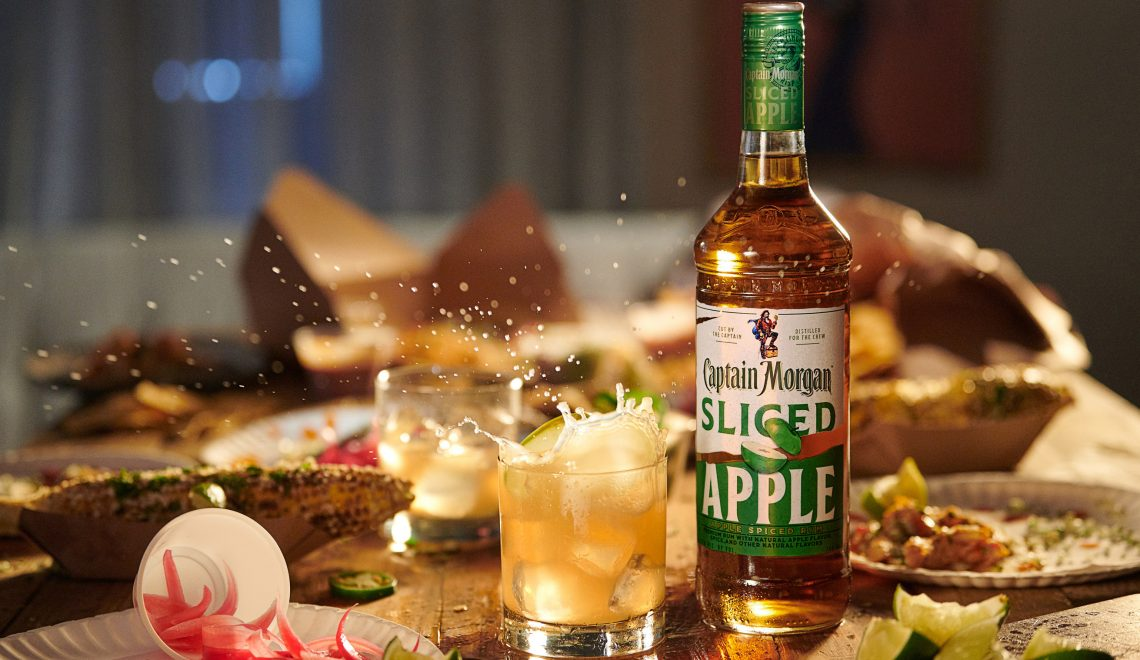 Captain Morgan Sliced Apple Spiced Rum Arrives Just In Time For Fall