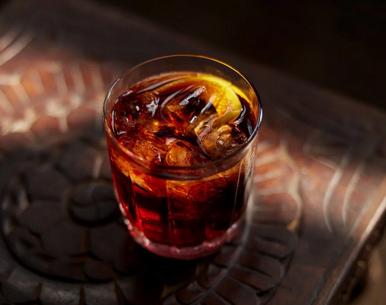 Castle & Key Autumn 2020 London Dry Gin Black Negroni