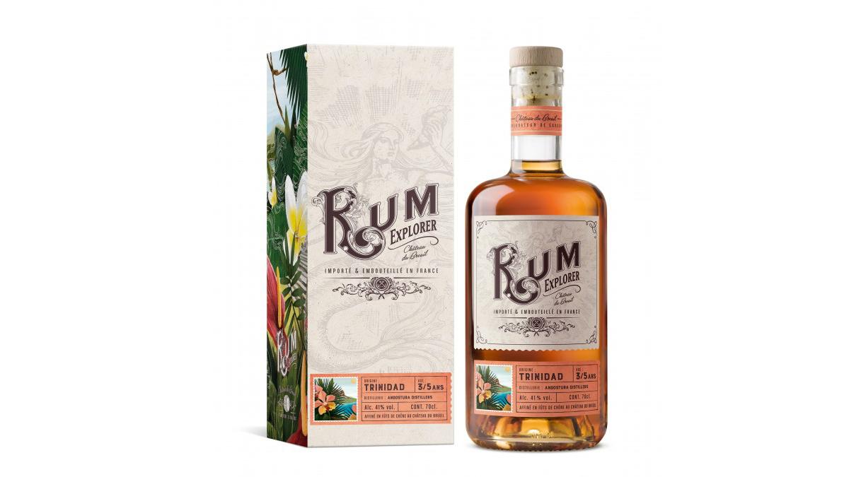 Chateau du Breuil Rum Explorer Trinidad 3/5 Ans