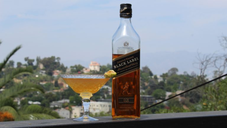 Fields Of Gold Cocktail with Johnnie Walker Black