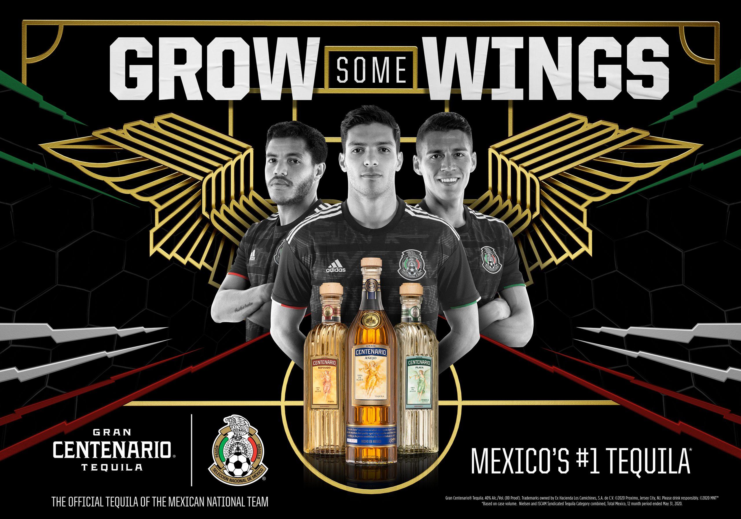 Gran Centenario Mexican National Futbol Team Grow Some Wings