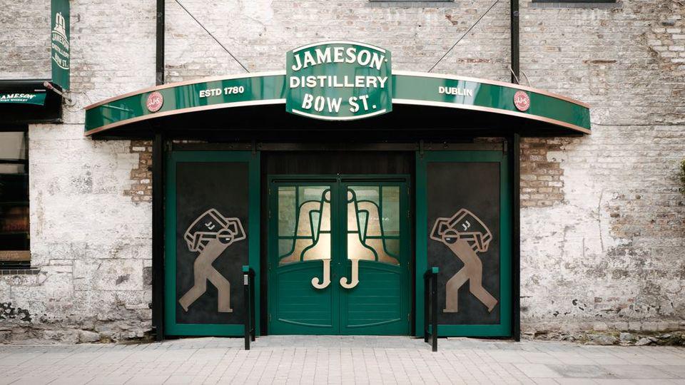 Jameson Black Barrel Whiskey Blending Class