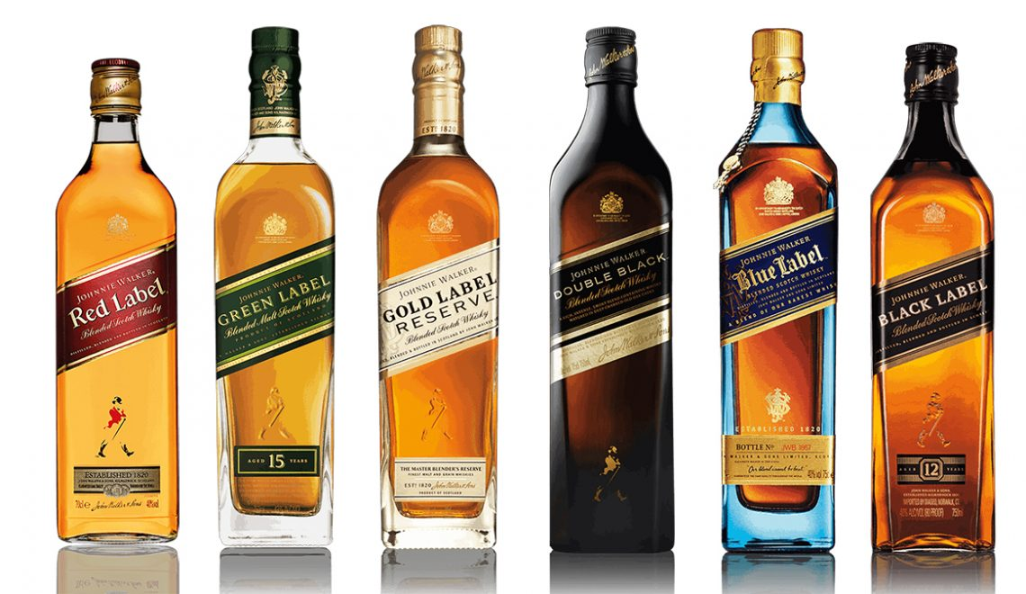 Every Johnnie Walker Whisky Won A Gold Medal At The International Spirits Challenge 2020