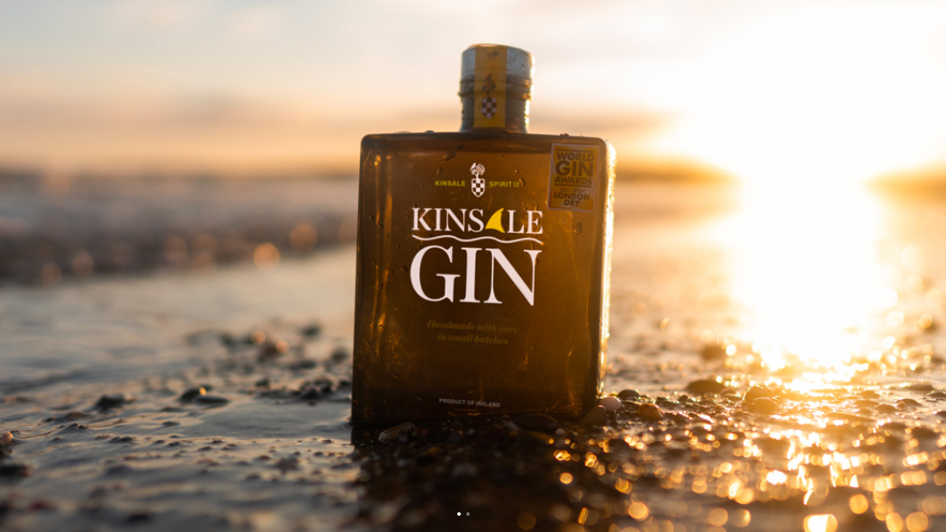 Kinsale Gin has been awarded Gin Of The Year, Gin Producer Of The Year, and a Double Gold medal at the 2020 Bartender Spirits Awards
