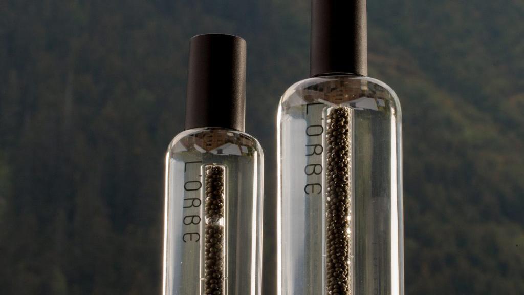L'Orbe Vocka x Caviar bottles