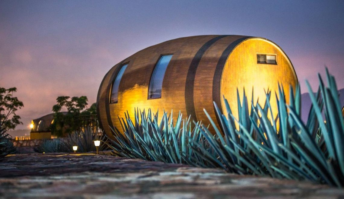 Matices Hotel de Barricas: Sleep In Barrels In Blue Agave Fields Next To A Distillery