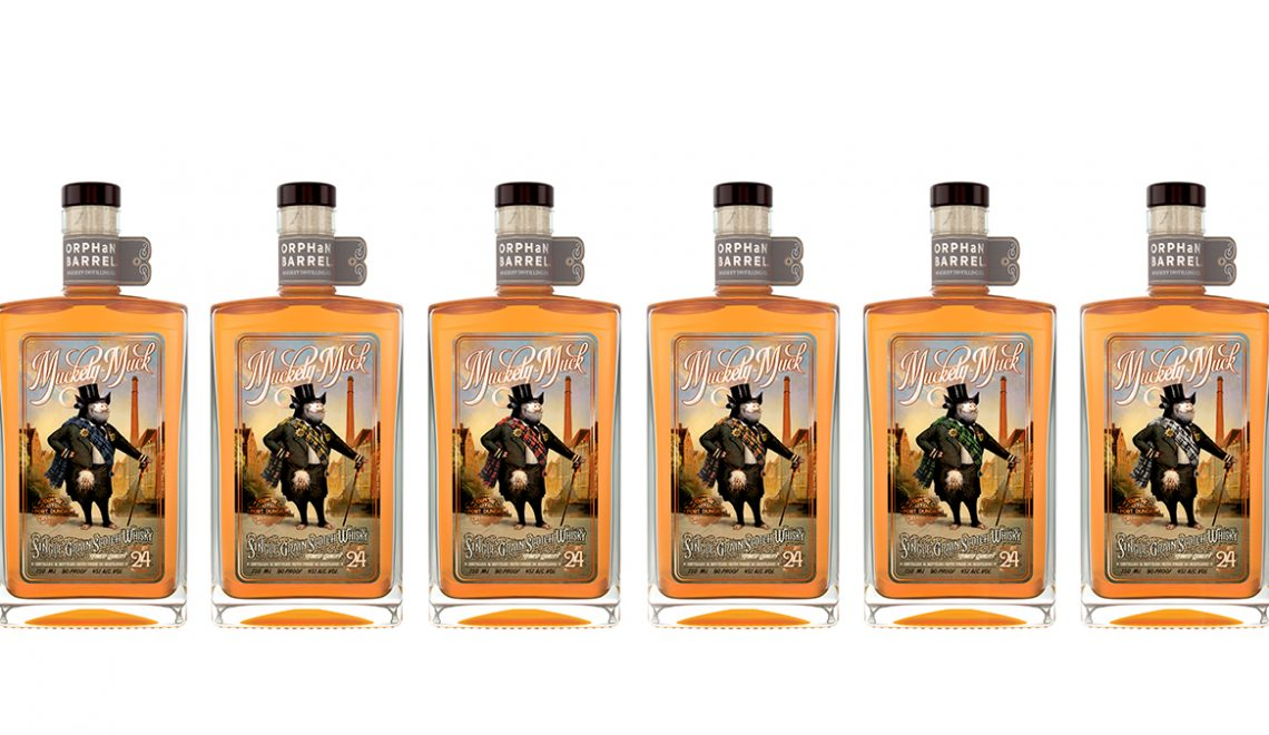 Orphan Barrel Distilling Co. Debuts Muckety-Muck 24 Year Old Single Grain Scotch Whisky