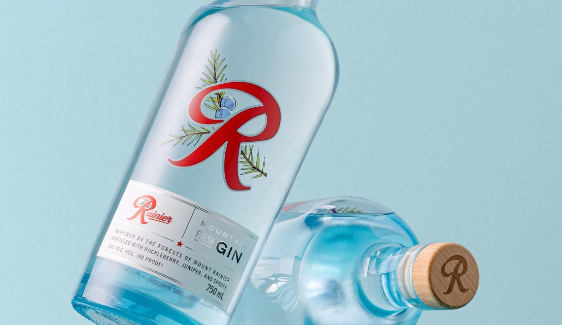 Rainier Debuts Mountain Fresh Gin, Its First Non-Beer Release Since Prohibition