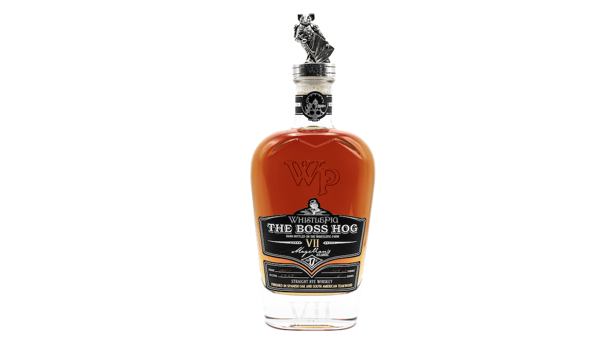 WhistlePig The Boss Hog VII Magellan's Atlantic Whiskey