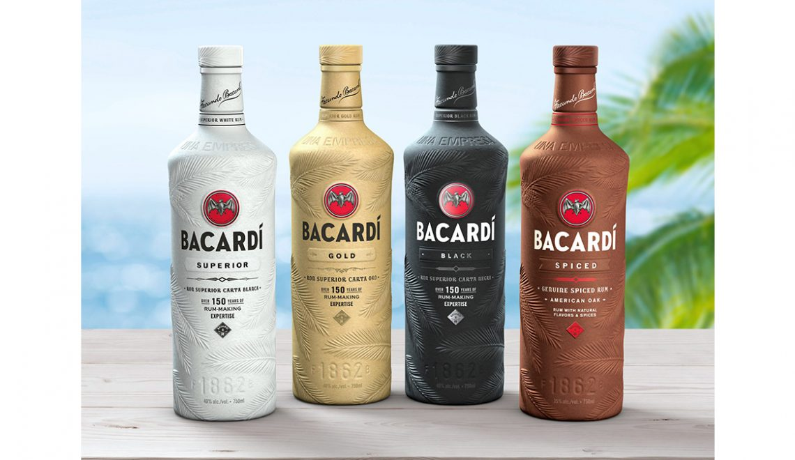 Bacardi Reveals World's First 100% Biodegradable Spirits Bottle