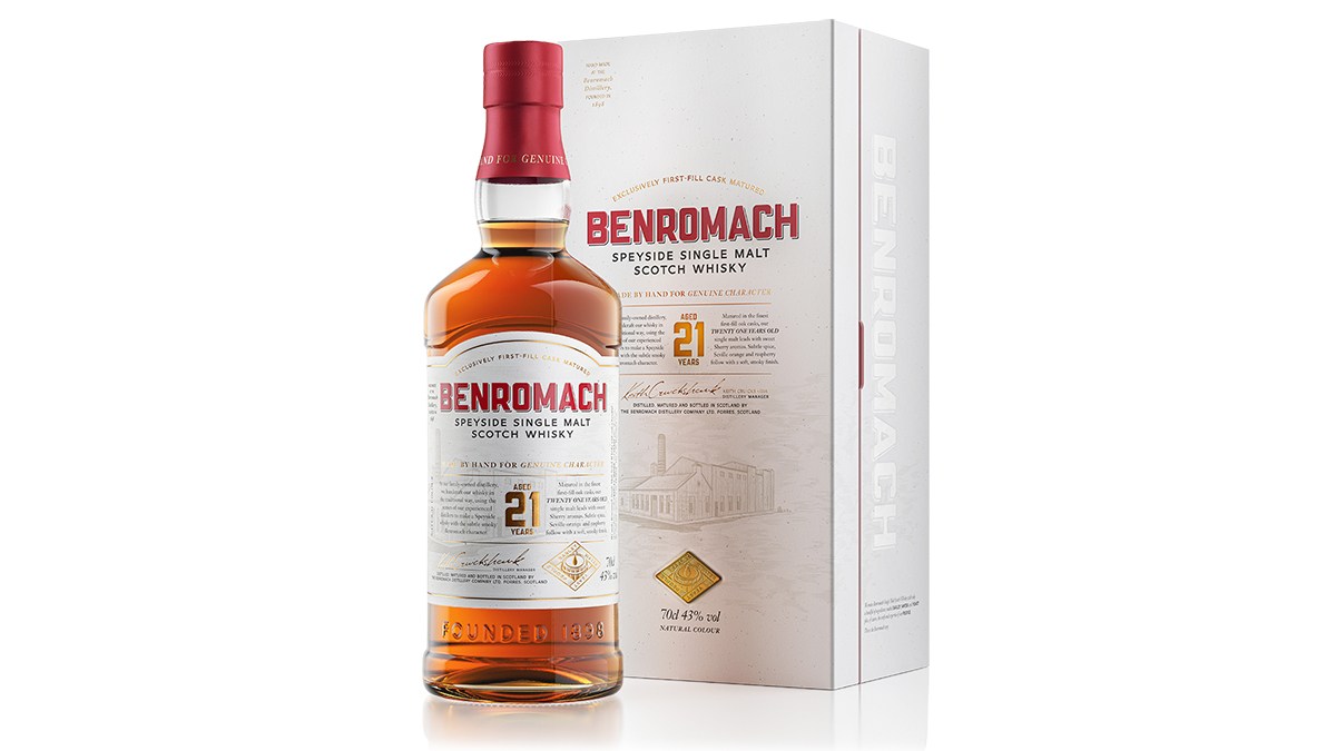 Benromach 21 Year Old Whisky