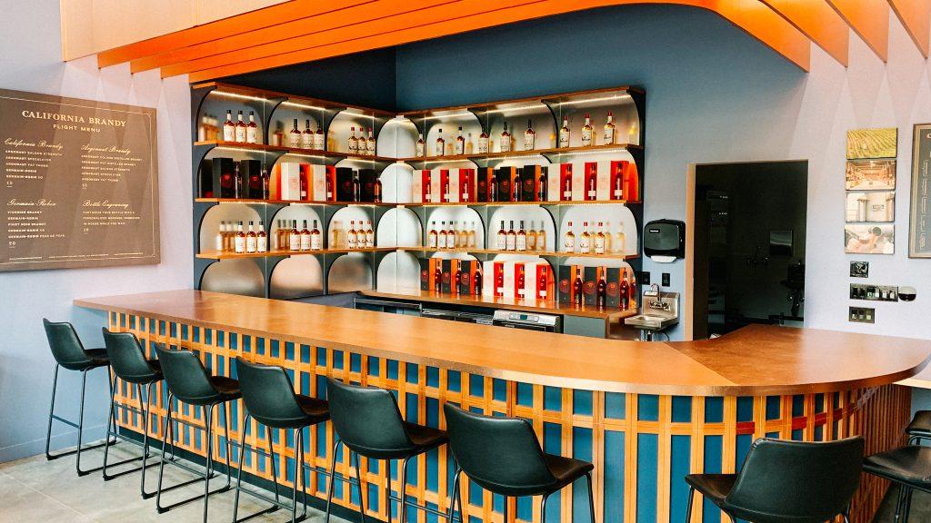 California Brandy House bar