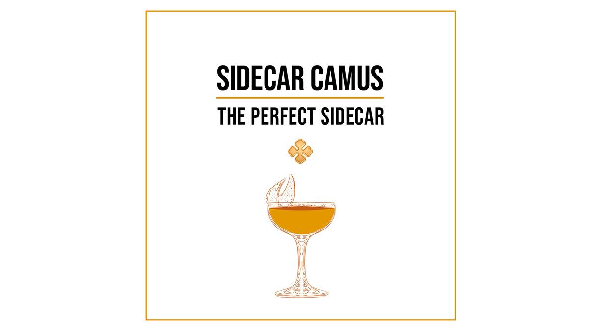 Camus Cognac Sidecar Cocktail Kit